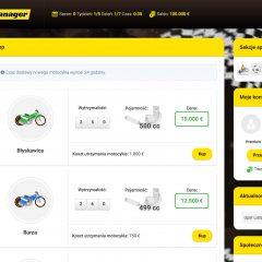 Speedway Manager – prezentacja gry