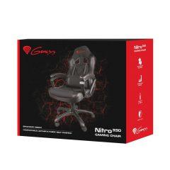 Nowy fotel dla gracza czarny – marki Genesis